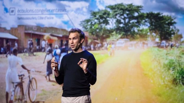Chris Sheldrick, co-founder of What3Words