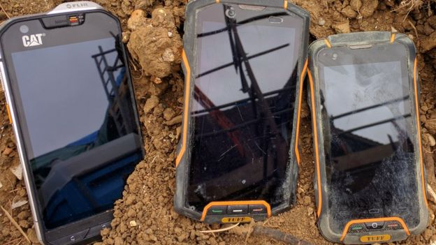 Rugged phones at the end
