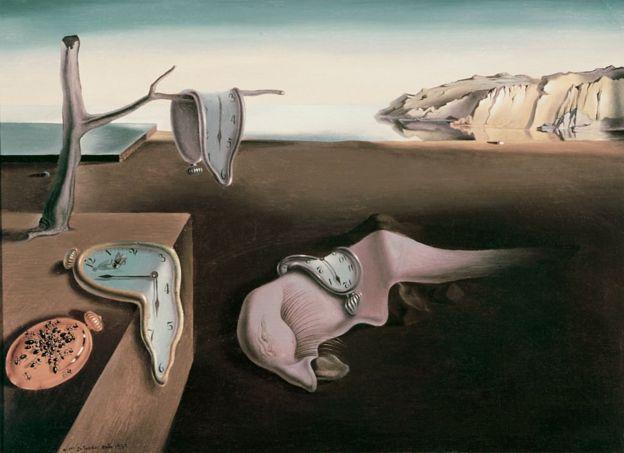 Persistencia de la Memoria, de Salvador Dalí