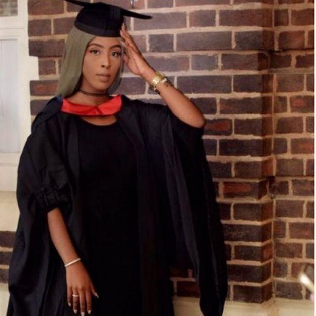 Image of Ramla Tyrow at her graduation