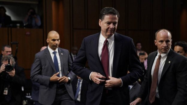 James Comey agaasimihii hore ee FBI