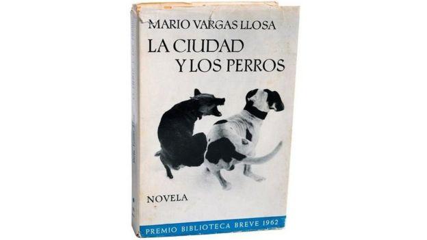 Portada del libro La Ciudad y Los Perros, Mario Vargas LLosa.