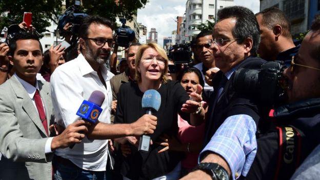 Luisa Ortega Díaz, exfiscal de Venezuela.