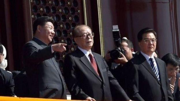 習近平,江澤民,胡錦濤