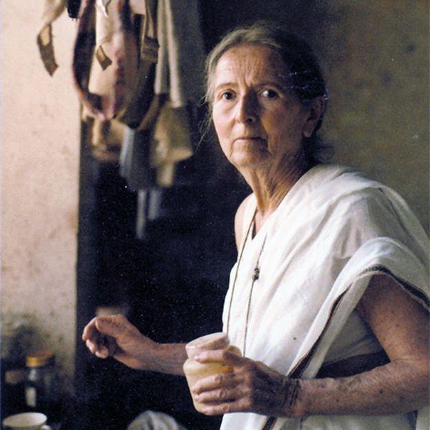 Савитра Деви в Дели в 1980 году