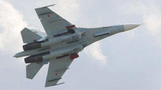 Su-27, file pic