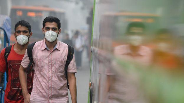 آلودگی هوا در هند