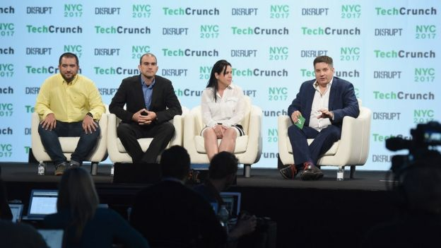 Cuba panel at TechCrunch conference in New York