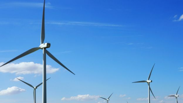 Torres de energia eólica