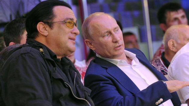 Сигал и Владимир Путин
