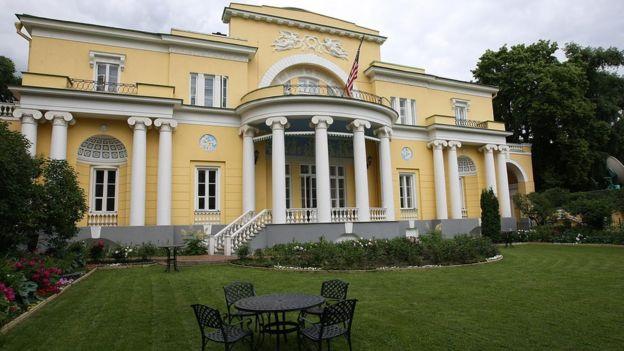 Резиденция посла США в Москве Спасо-хаус