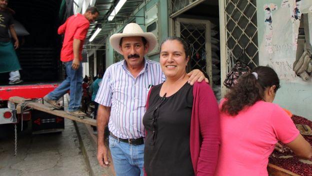 Cielo Valencia y su esposo Hernán Silva Guarín.