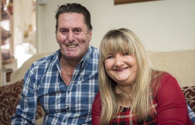 Rachel y Gary Burns