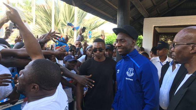 Wachezaji wa Everton