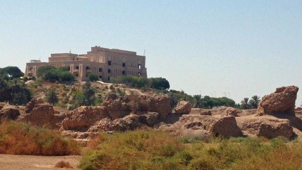 Saddam Hüseyin'in sarayı