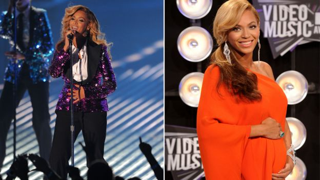 Beyonce at the 2011 MTV VMA's