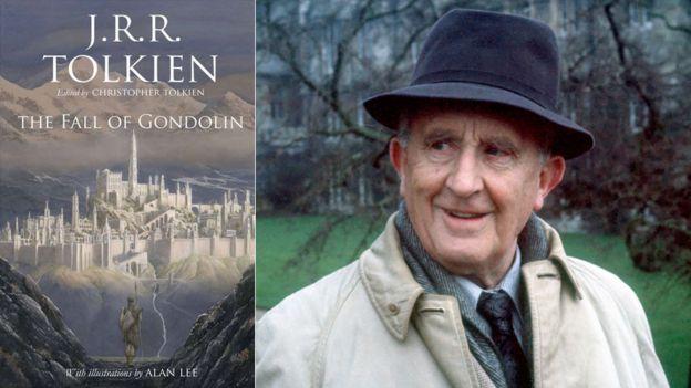 Падение книги Гондолина и Дж. Р. Р. Толкина в 1968 году