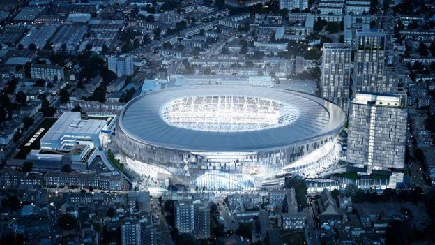Image result for tottenham new stadium