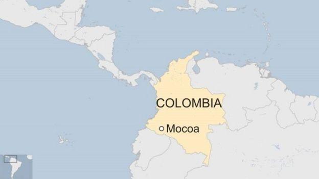 Mapa de Colombia