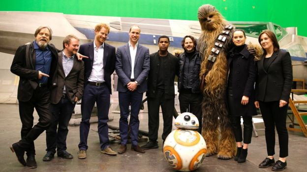 Afbeeldingsresultaat voor harry and william star wars