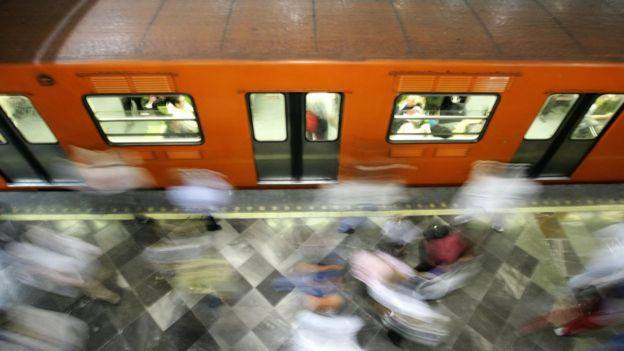 Mexico City's metro has women-only carriages