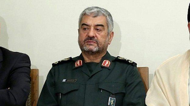 قائد الحرس الثوري الإيراني، اللواء محمد علي جعفري