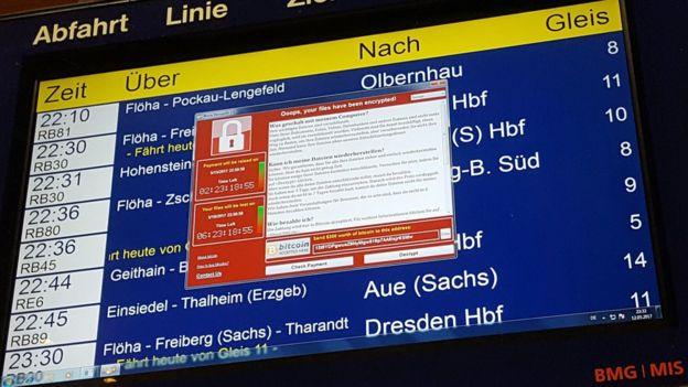 Anuncio de archivos encriptados en Alemania