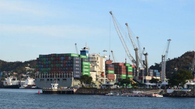 El puerto de Manzanillo