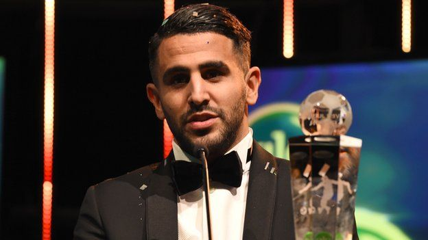 Riyad Mahrez of Algeria