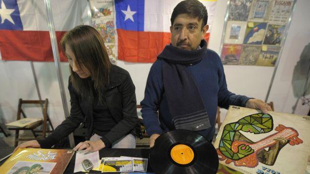 Disco de Violeta Parra
