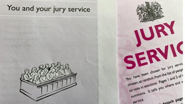 陪审团服务通知