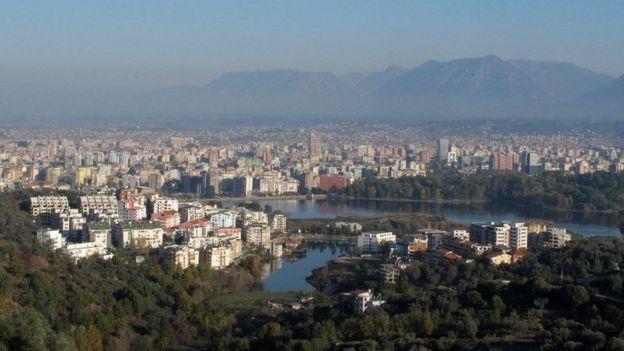 阿爾巴尼亞首都地拉那