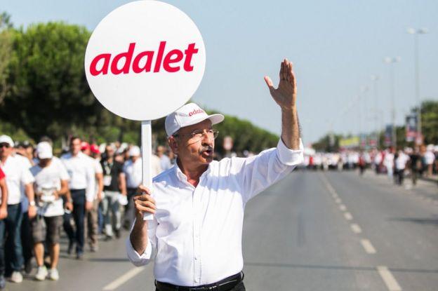 Kılıçdaroğlu'nun Adalet Yürüyüşü İstanbul'da büyük bir mitingle sonlanmıştı