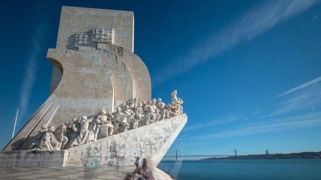 Monumento conhecido como 'Padrão dos Descobrimentos', em Lisboa