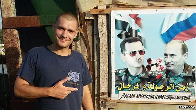 احد المقاتلين الروس في سوريا