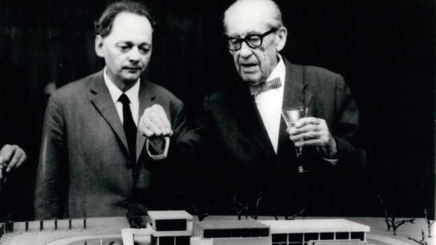 Walter Gropius, fundador de la Bauhaus, (Foto: Keystone Pictures/Alamy)