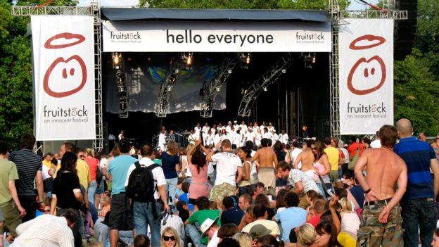 Festival de música auspiciado por Innocent.
