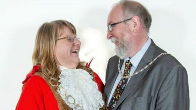 Sue Northcott and her husband Andrew