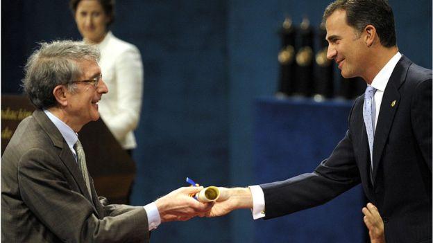 Howard Gardner recibe el premio Príncipe de Asturias