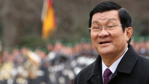 Ông Trương Tấn Sang từng bị kỷ luật