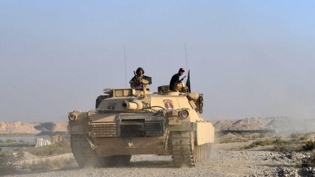 Tropas iraquianas em Mosul