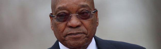 Başkan Jacob Zuma