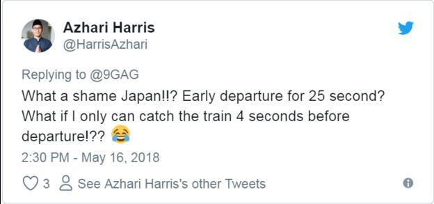 Xấu hổ Nhật Bản! Khởi hành sớm 25 giây? Tôi chỉ có thể bắt tàu 4 giây trước khi khởi hành!??