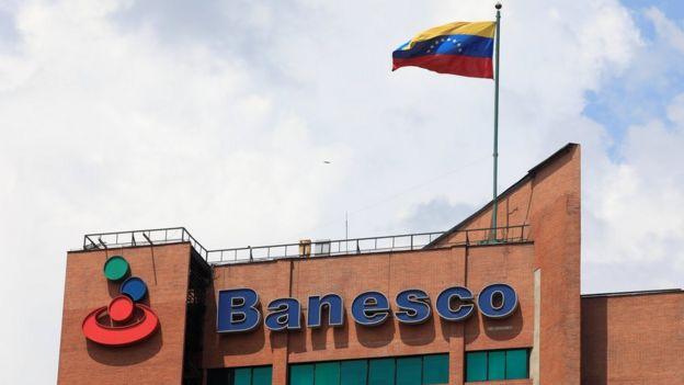 Oficinas de Banesco en Caracas.
