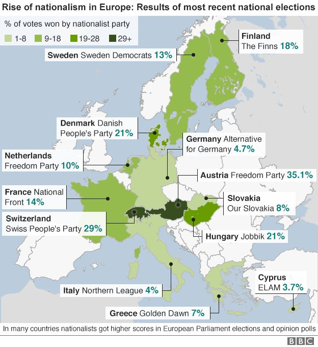 Germany Conflicted On How To Handle Brexit BBC News - Germany map 2016
