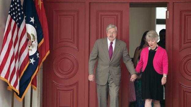 美国驻中国新大使泰利·布兰斯达德