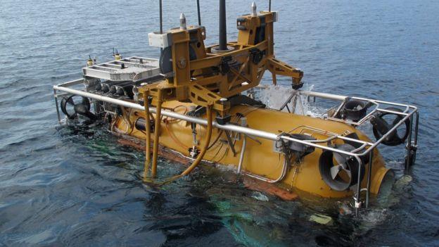 Módulo pressurizado de resgate para submarinos