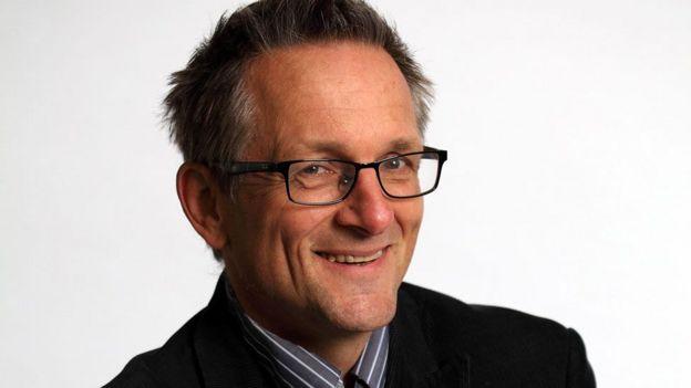 El doctor Michael Mosley, conocido presentador en Reino Unido de programas de televisión y documentales sobre temas de salud