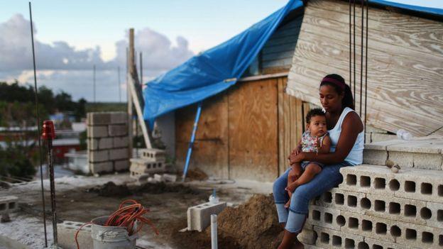 Damnificado en Puerto Rico