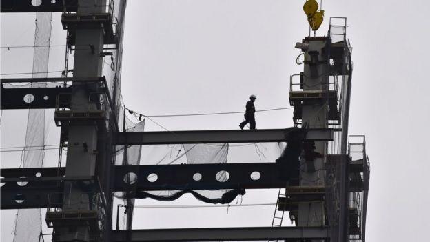 Japan construction site